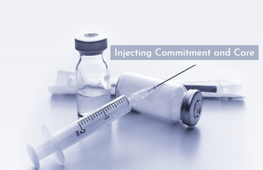 injecting commitment and care