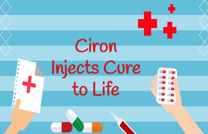 ciron injects cure to life