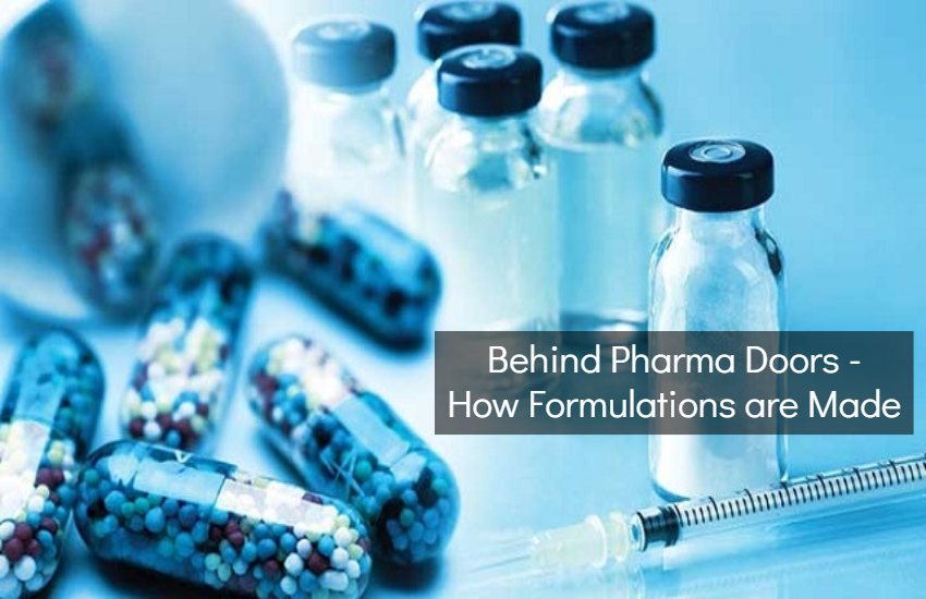 Formulations in Pharmaceutical Industry