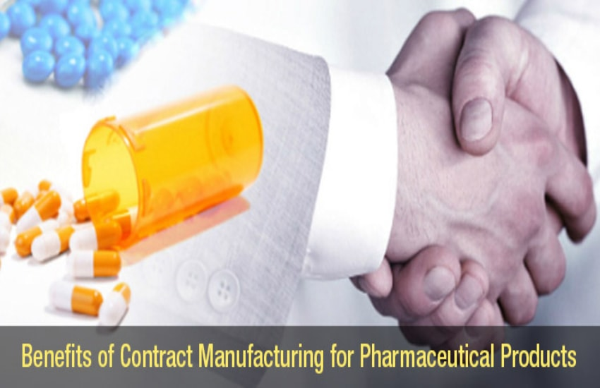 Benefits of Pharmaceutical Contract Manufacturing