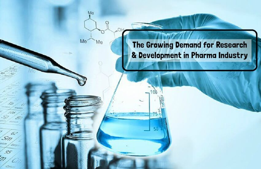 The Growing Demand for Research & Development in Pharma Industry