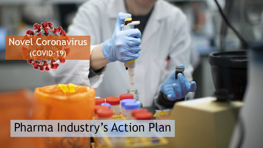 Novel Coronavirus (COVID-19) – Pharma Industry's Action Plan