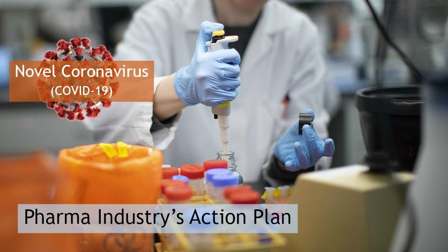 Novel Coronavirus (COVID-19) – Pharma Industry's Action Plan