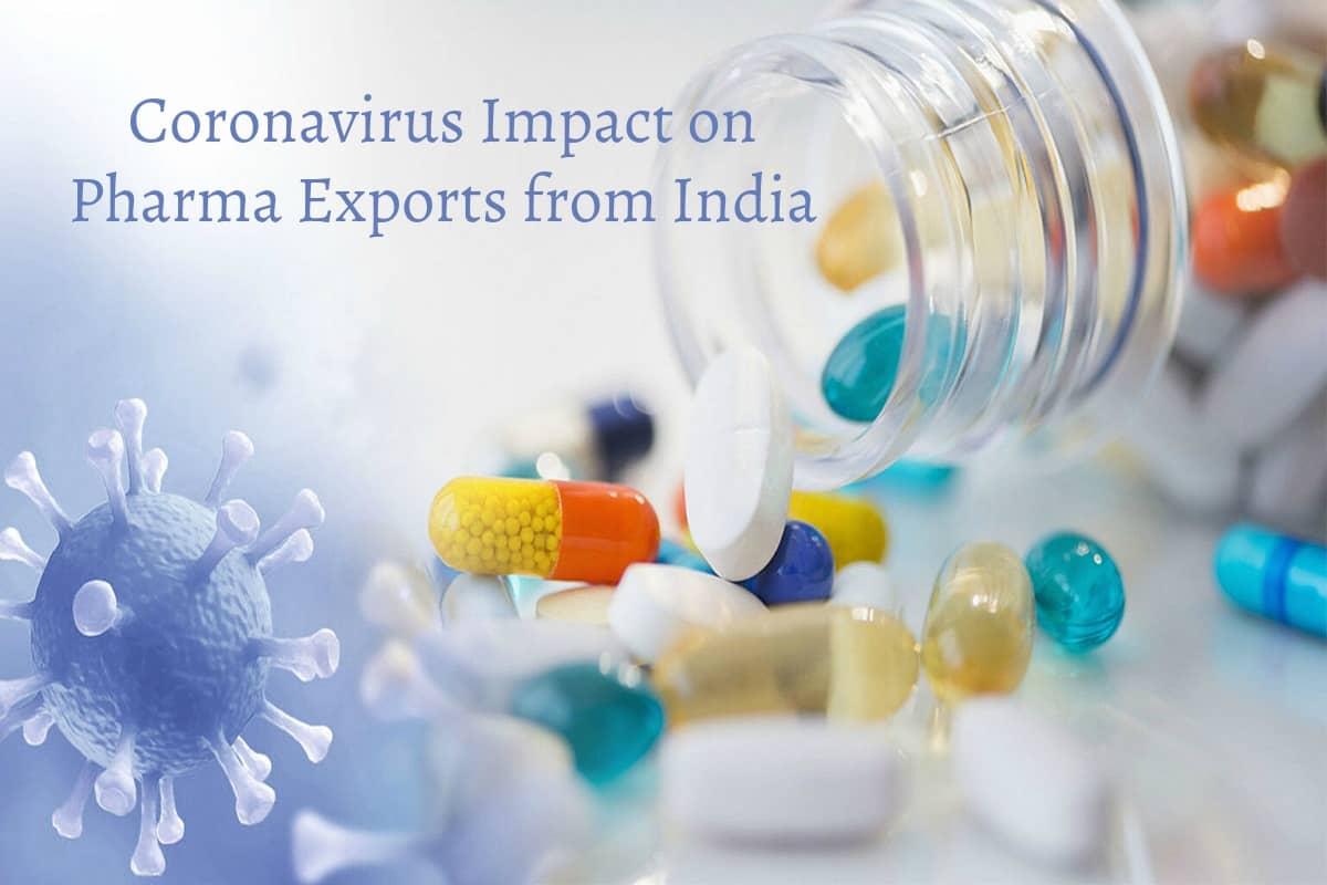 Coronavirus Impact on Pharma Exports from India
