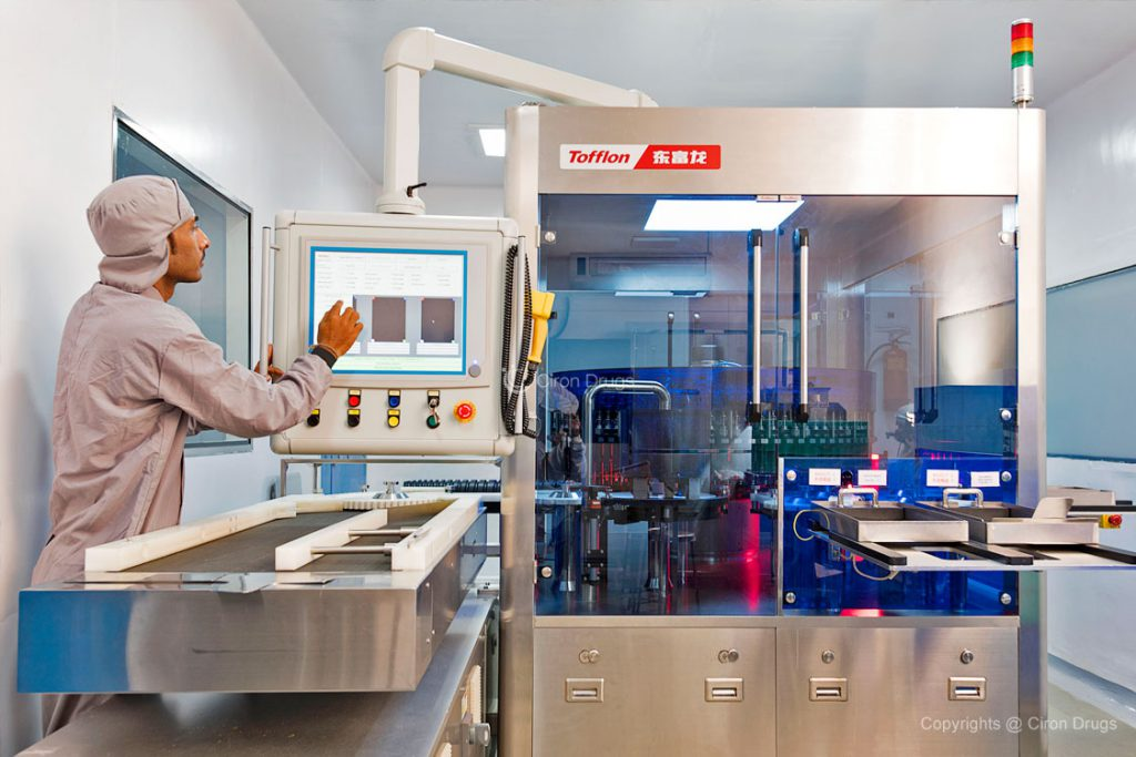 Pharmaceutical Tablet Manufacturing Process